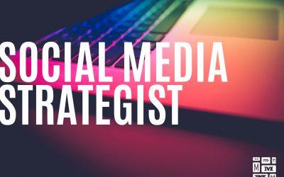 Hledáme nového kolegu. SOCIAL MEDIA STRATEGIST