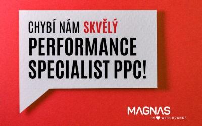 Hledáme nového kolegu. Performance Specialist (PPC)