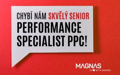 Hledáme nového kolegu. Performance Specialist Senior (PPC)