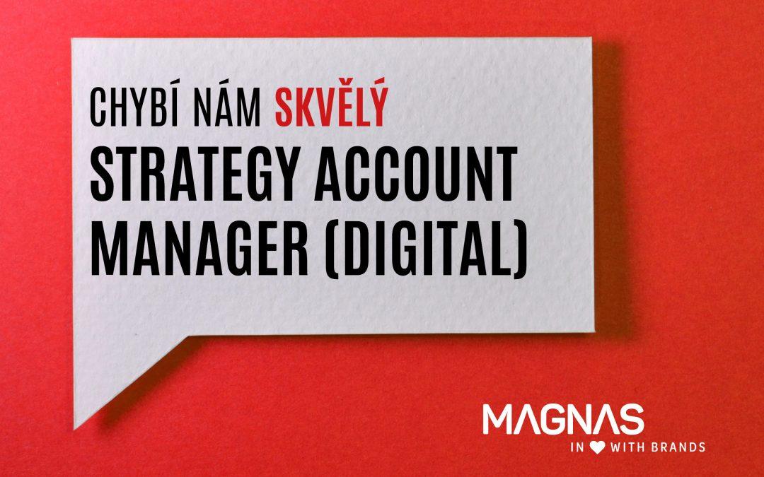 Hledáme nového kolegu. Strategy Account Manager