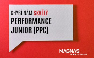 Hledáme nového kolegu. Performance Junior (PPC)